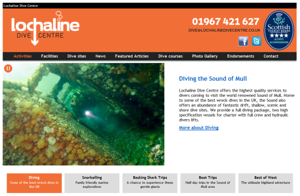Lochaline Dive Centre screenshot