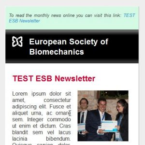 Mobile version of the ESB Newsletter.